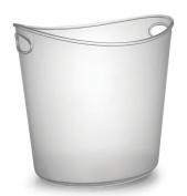 Fineline Settings 3404 Platter Pleasers 3.8l Clear Oval Ice Bucket-6 pcs