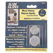 Shepherd Furniture Glides and Protectors 2.5cm . Adhesive Furniture Glides (8 per Pack) Browns / Tans 9452