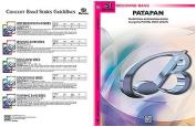 Alfred 00-BDM01032 Patapan - Music Book