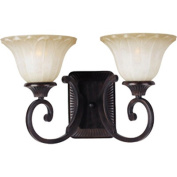 Maxim Lighting 13512WSOI Allentown 2-Light Wall Sconce - Oil Rubbed Bronze