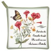 Alices Cottage AC21408 Yellow Swallowtail Potholder