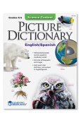 Learning Resources LER7318 Science Content Picture Dictionary English Spanish