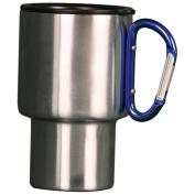 Aloe Gator 118174 440ml Carabiner Travel Mug - Blue