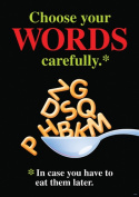 Trend Enterprises Inc. T-A67381 Choose Your Words Carefully Poster