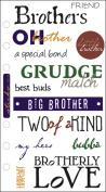Sticko SPPCC-38 Sticko Phrase Cafe Stickers-Brotherly Love