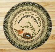 Capitol Importing 66-121RN Robins Nest - 27 in. x 27 in. Round Patch