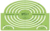 Alvin - Large Isometric Ellipse Template - TD1124