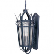 Maxim Lighting 30043CDCF Cathedral 3-Light Outdoor Wall Lantern - Country Forge