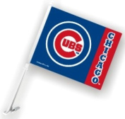 Caseys Distributing 2324568916 Chicago Cubs Car Flag