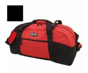 Luggage America S-1036-BK Sports Plus 36 Polyester Sports Duffel- Black
