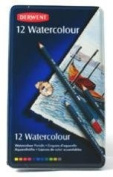 Arts & Craft - 12 Watercolour Pencils - Derwent