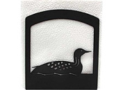Village Wrought Iron NH-116 Loon Napkin Holder