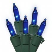 Vickerman W5G0552 50 Light Blue Dura-Lit-Green Wire Ec