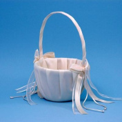 Beverly Clark A01115FB/IVO Simplicity Flower Girl Basket - Ivory