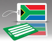Insight Design 770583 TagCrazy Luggage Tags- South Africa Flag- Set of Three