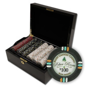 Brybelly Holdings PCS-3303M 500Ct Claysmith in.Bluff Canyon in. Chip Set in Mahogany Case