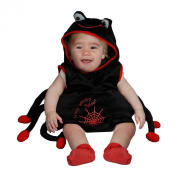Dress Up America 362-6-12 Baby Plush Spider Costume - Size 6-12 Months