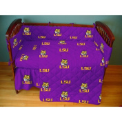 College Covers Louisiana State (LSU) Tigers Baby Crib Fitted Sheet