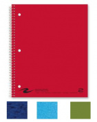 Roaring Spring Paper Products 11085 Two Subject Notebook - 100 Sheets Per Book