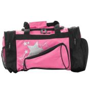 Pizzazz Performance Wear B100 -HPK -L B100 Megaphone Duffle Bag - Hot Pink - Large