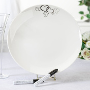 Lillian Rose PL320 Round Platter with 2 Pens