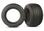 "Traxxas Ribbed Front 2.8"" Tyres With Inserts- TRA5563"