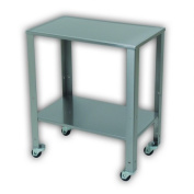 Cardinal Scale-Detecto SPBT-1728 Stainless Steel Portable Baby Table with Adjustable Lower Shelf and Wheels