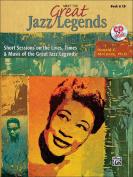 Alfred 00-32179 Meet the Great Jazz Legends - Music Book