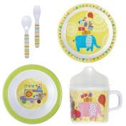First Birthday Melamine Dinnerware Set