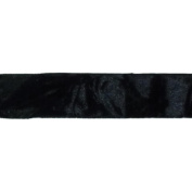 Cest Joli 29616464 Panne De Velours-Crushed Velvet 7-20cm . x 3.28 Yards-Black