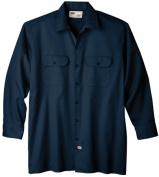 Dickies Medium Navy Mens Long Sleeve Work Shirt WL574NV MED