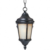 Maxim Lighting 3018LTES Odessa Cast 9 W 1-Light Outdoor Hanging Lantern - Espresso