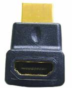 Comprehensive HDF-RAMU HDMI Female to Right Angle Male - Upward Position