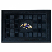 Fanmats 11432 Baltimore Ravens Medallion Door Mat