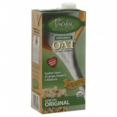 Pacifc Natural Foods 12478 Naturally Oat Organic Original Beverage