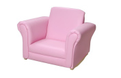 Giftmark 6725P Pink Upholstered Rocking Chair