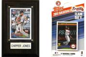 C & I Collectables 11BRAVESFP MLB Atlanta Braves Fan Pack