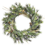 Vickerman A801824 24 Mixed Country Pine Wreath 90T