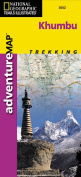 National Geographic AD00003002 Map Of Khumbu