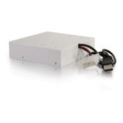 C2G 30568 4-PORT USB 2.0 HIGH SPEED FRONT-BAY HUB - WHITE