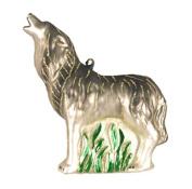 Cobane Studio COBANED385 Howling Timberwolf Ornament