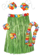 Beistle - 50494 - Adult Complete Hula Outfit - 5 Pieces - Pack of 6