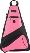 Pzazz Performance Wear SL50 -HPK -L SL50 Megaphone Sling Pack - Hot Pink - Large