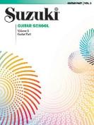 Alfred 00-0392 Suzuki Guitar School Guitar Part- Volume 3 - Music Book