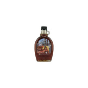 Coombs Family Farm 25602 Organic Grade B Maple Syrup Glass