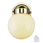 Trans Globe Lighting 4950 WH Outdoor Americana 20cm Wall Lantern, White