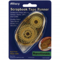 Allary 0.8cm by 0.6cm Repositionable Scrapbook Tape Runner Multi-Coloured
