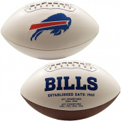 Creative Sports FB-BILLS-Signature Buffalo Bills Embroidered Logo Signature Series Football