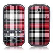 DecalGirl HU75-PLAID-RED Huawei U7519 Skin - Red Plaid