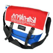 Blancho Bedding MB-JX007-BLUE Nordic Print - Blue Multi-Purposes Messenger Bag / Shoulder Bag